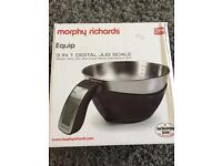 Morphy Richards 3 in 1 digital jug scale
