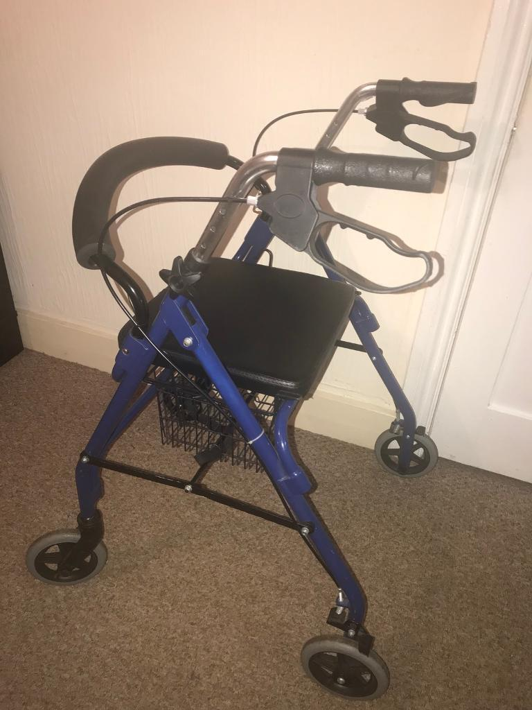 Mobility walking aid with seat and basket Can deliver   in Norwich ...