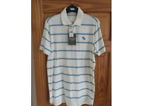Abercrombie & Fitch men's polo top