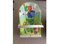 Fisher-Price CJN00 Rainforest New-Born Baby Bouncer, Rocker and Chair