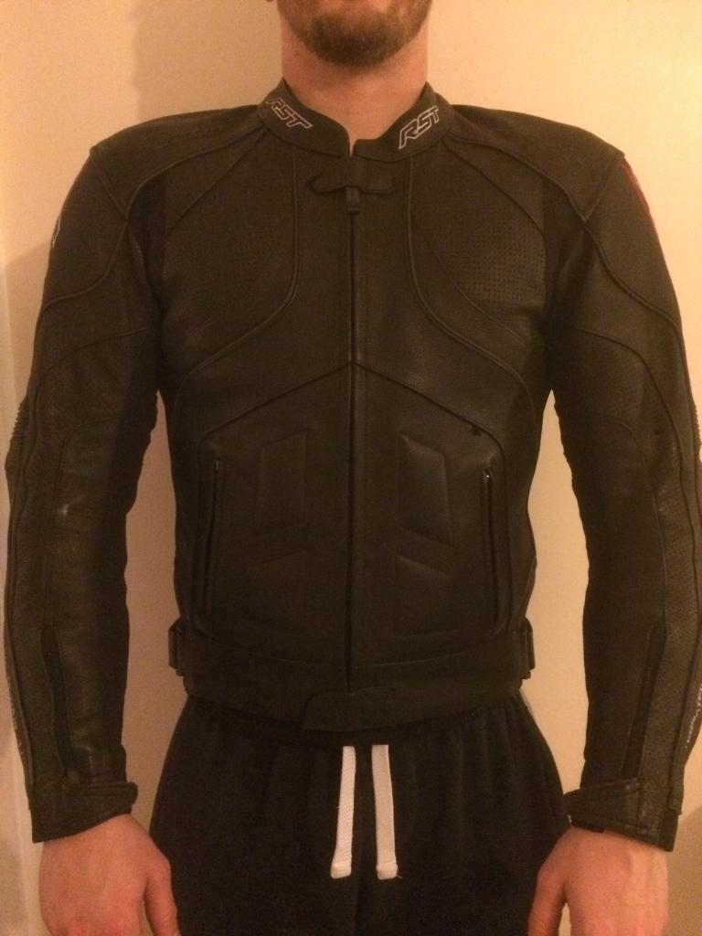 RTS leather motorcycle jacket