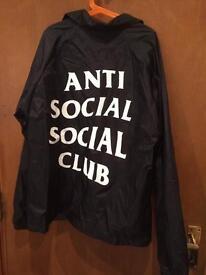 Antisocial Social Club Black jacket