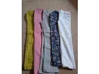 Girls trousers jeans bundle
