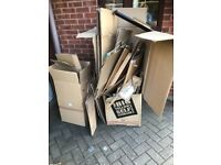 Removel boxes strong ones free to pick up