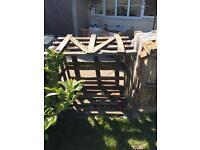 Wooden Crate Compost Storage Pallet x3