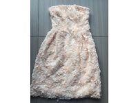 Woman's Zara pink rose dress, brand new no tags, medium