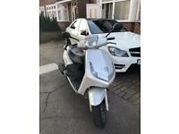 Peugeot Vivacity 50cc Moped Ped Scooter 58 MOT V5 Rides Great Very Cheap Quick Sale Ride Away