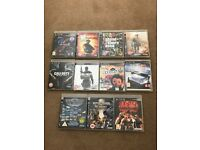 11 PS3 games all working! Including black ops and modernwarfare 2!!