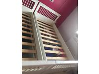 Erin trundle comfort single bed x2