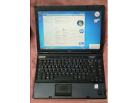 COMPAQ NC6400 LAPTOP,WINDOWS 7. MS OFFICE. DVD DRIVE. 14.1