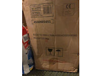 Brand new Back to wall D shaped toilet pan with seat from Bathstore - Newbury / Thatcham