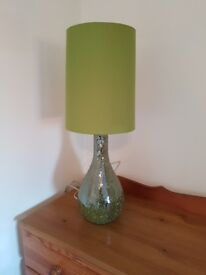 Next Green Crackle Lamp