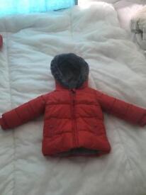 Winter coat 12-18 months