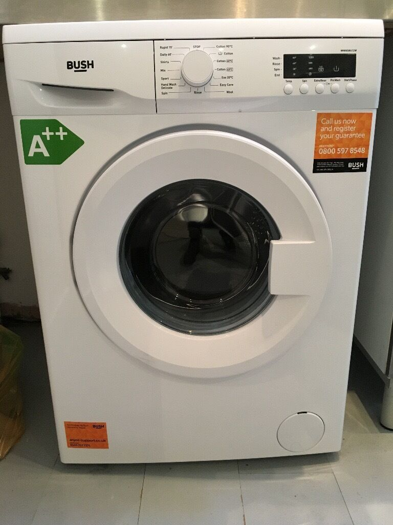Great washing machine / BUSH / bought 6 month ago from Argos / I'm selling it because I'm moving out