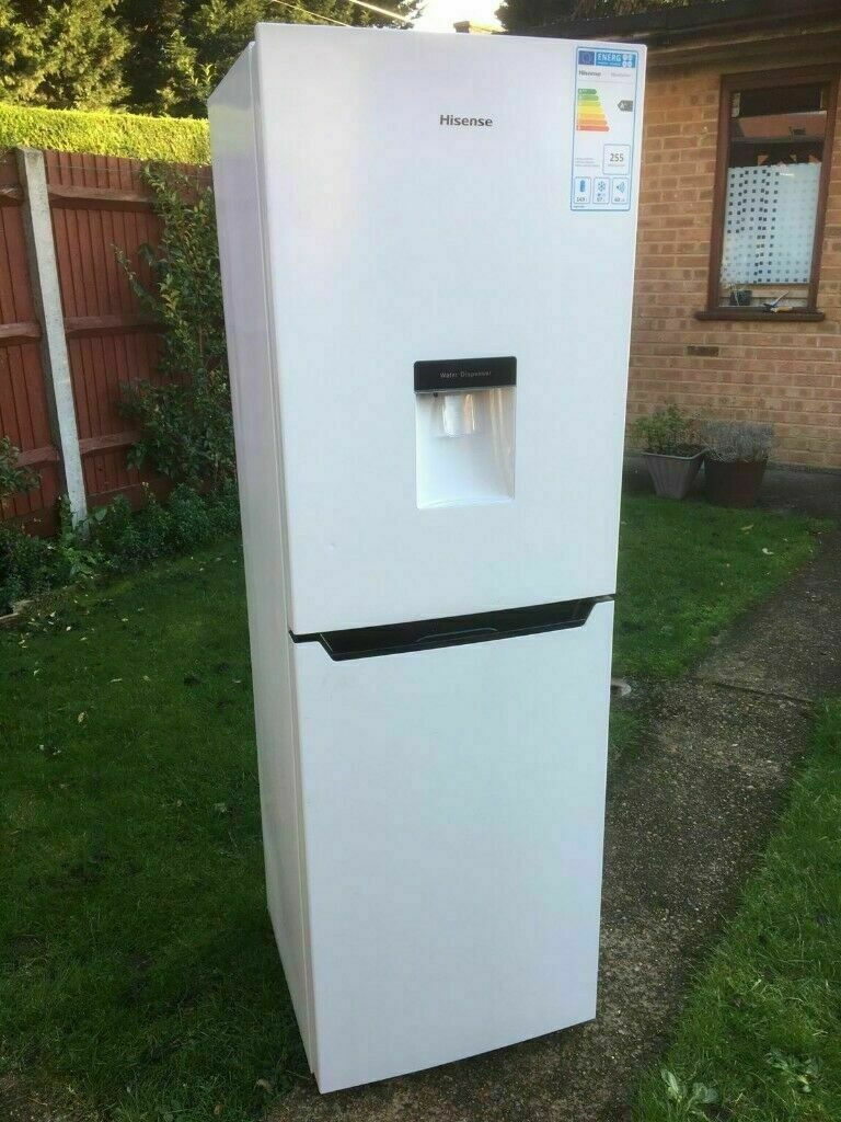 **HISENSE**FRIDGE FREEZER**A+ RATING**COLLECT\DELIVERY**WATER  DISPENSER**GOOD CONDITION**NO OFFERS* | in Hounslow, London | Gumtree