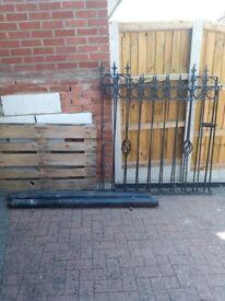 Metal,iron gate