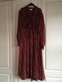 Size 18 Vintage style Monsoon dress