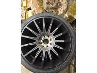 17 inch wheels.