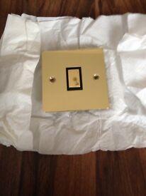 Gold light switch