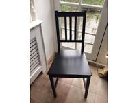 Set Of 4 Ikea Stefan dining chairs