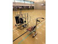 Leg Press & Bench Press Machine - Nissen Universal (372kg of weight)