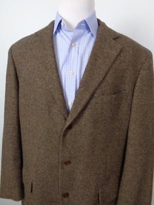 Vtg Southwick Wool Tweed Custom Blazer Sport Coat Mens 47R Tall 3 Button Jacket