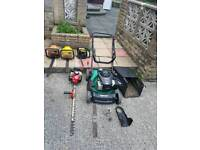 Spare and repair patrol hedge trimmers+ patrol chain saw+patrol lawnmower, OPEN TO OFFER
