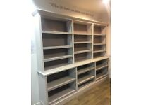 Pair of large bookcase for retail - shop fittings for sales / display