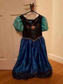 Disney Frozen Anna dress 5-6 years