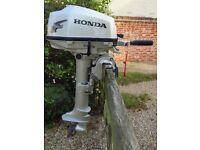 Honda BF5A 5hp long shaft outboard motor