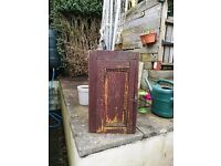 Wonky Little Rustic Cabinet
