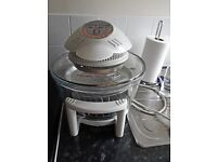 Halogen oven space needed due to small kitchen