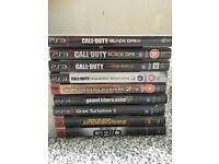 PS3 + 9 games