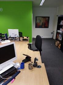 Desk space available - Surbiton