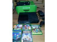 Xbox one, kinect, controller and 5 games nearly new