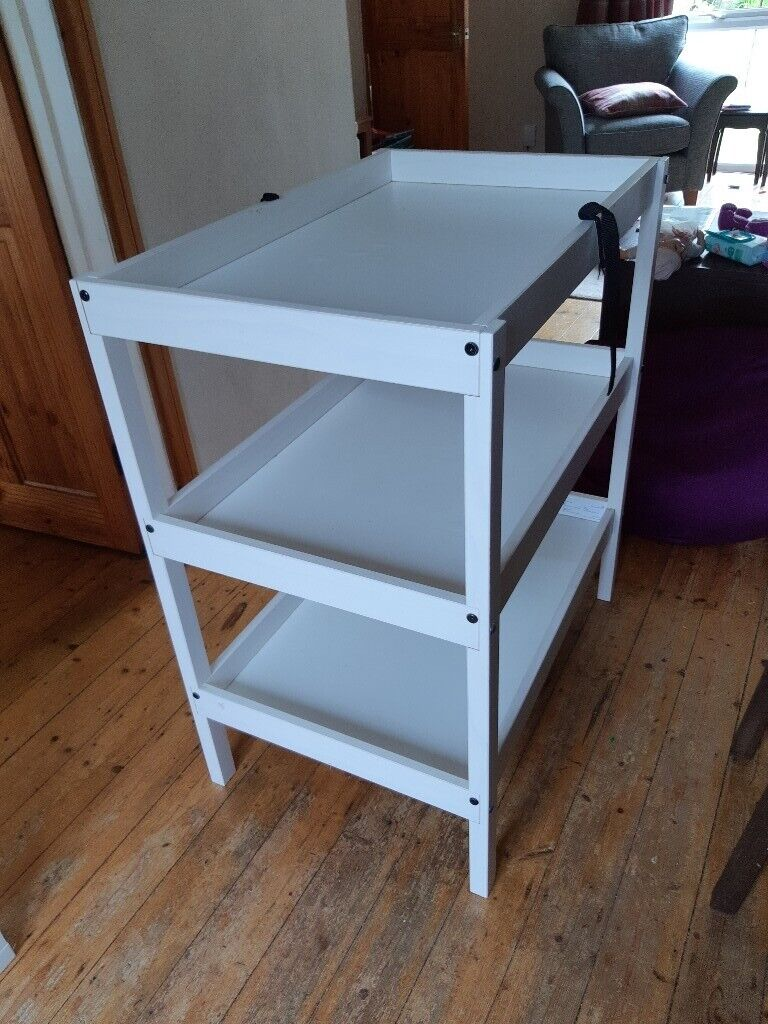 Fantastic White Changing Table Unit In Abingdon Oxfordshire Gumtree Download Free Architecture Designs Embacsunscenecom