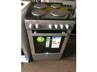 Stainless steel statesman 50cm electric cooker grill & oven with guarantee