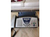 Fax machine. Brother FAX-T104.