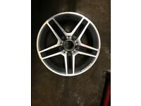 "17"" Inch Alloy Mercedes Wheel"