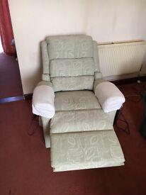 Riser/recliner chair. Bargain at £200 o.v.n.o.
