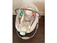 Comfort and Harmony Cozy Kingdom cradling baby bouncer