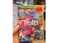 New trolls dvd