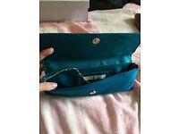Lovely teal hand bag