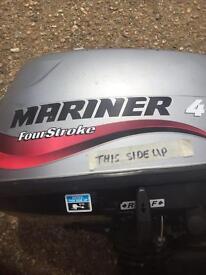Mariner sailmate 4stroke 4hp