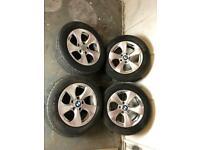 16 inch bmw 3 series F30 alloys & tyres m3