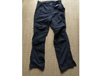 TECHNICAL WALKING TROUSERS WITH DWR - MONTANE BRAND - SIZE 8