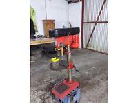 Sealey pillar drill gdm120b m2 taper 5/8chuck turntable mint cond £160