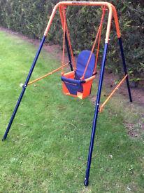 Hedstrom Folding Toddler Swing G/C