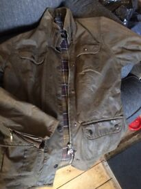 Barbour ladies jacket size small