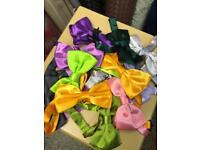 Job lot mens bow ties total 1000 mix color £500